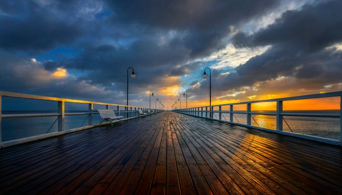 Pier by jansieminski - Promenades And Boardwalks Photo Contest