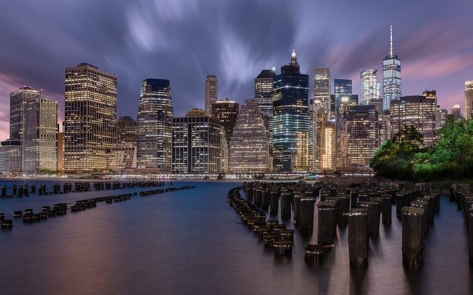 Shining into the night by StefanLueger - New York Photo Contest