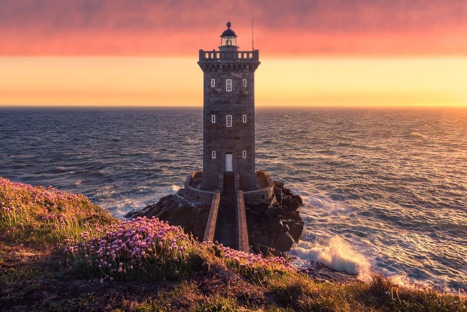 Paysage fabuleux de Bretagne