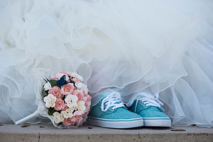 Wedding Vans by Thephotocorgi - Beautiful Flowers Photo Contest