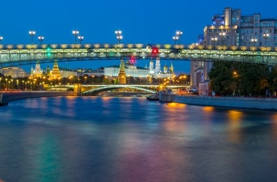 Bridge over the Moscow river