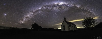 Pirinoa Church Milky Way