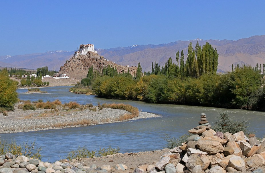 Ladakh Buddhists built monasteries in jaw-dropping places...