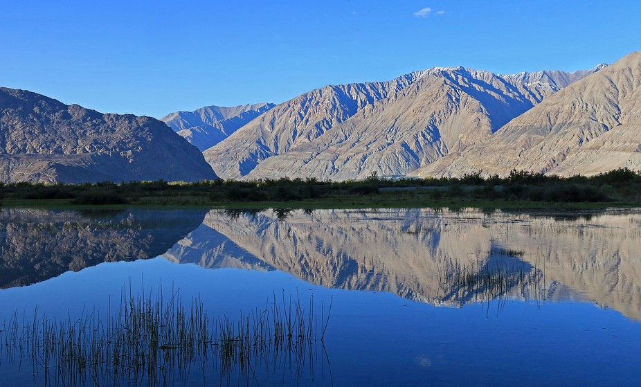 Finding water in Ladakh is quite a feat...