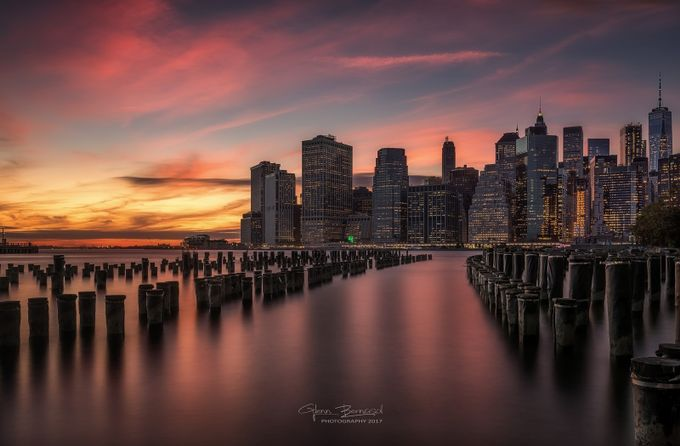 New york skyline by glennbernasol - New York Photo Contest