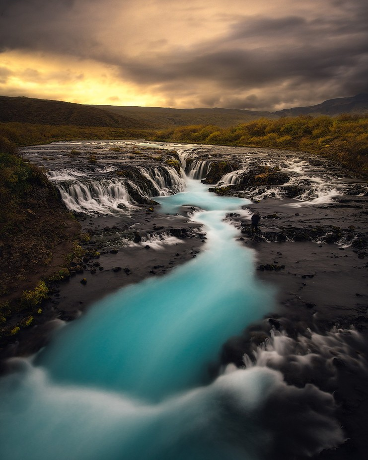 bruarfoss feat autumn by Tor-Ivar - Image Of The Month Photo Contest Vol 26