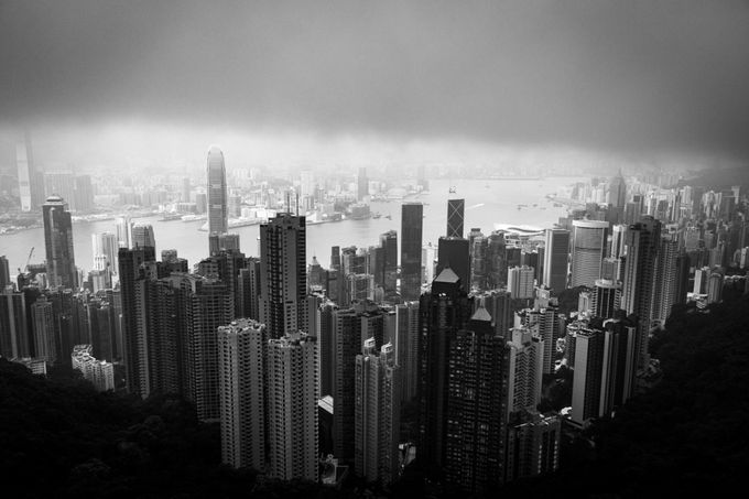 Hong kong by RobertBiznar - Fog And City Photo Contest