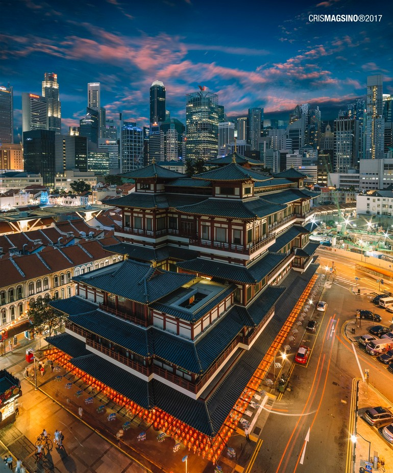 Buddha Tooth Relic Temple by crismagsino - Monthly Pro Vol 35 Photo Contest