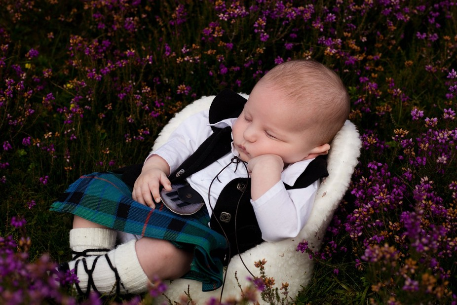 this it my little man Aaron who was 13 weeks on this photo i had all his outfir made to order to ...