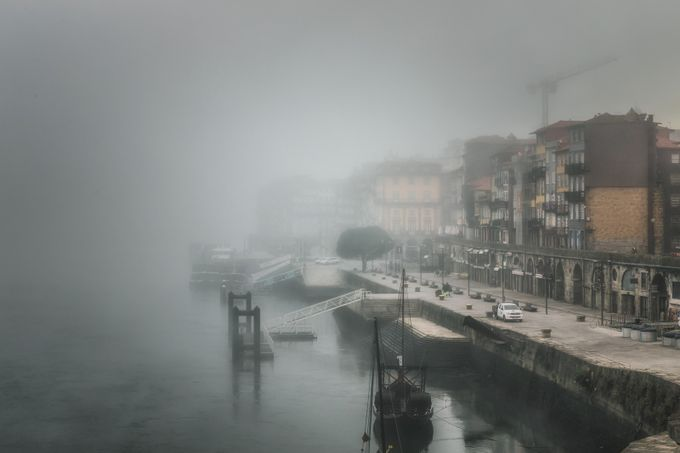 Muted Harbour Scene by CPF_Photography - Fog And City Photo Contest