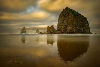 Early Morning at Cannon Beach
