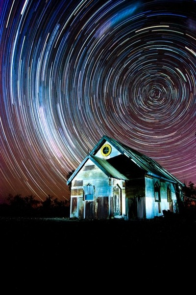 Lightning Ridge Startrail
