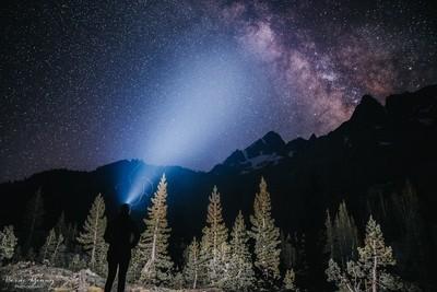 Under the Milky Way - Ansel Adams Wilderness