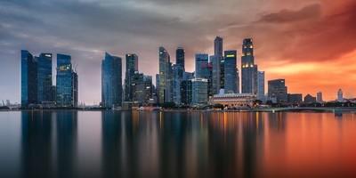 Skyline   Marina Bay, Singapore