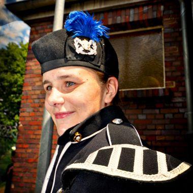 Female RBL Band Member.