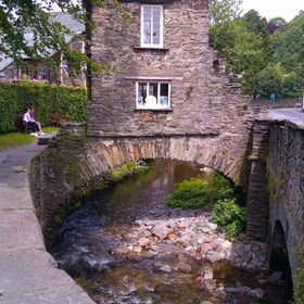 Ambleside, in the Lake District, is a little town with a lot of character and charm. That picture is a beautiful example of the stone work observ...