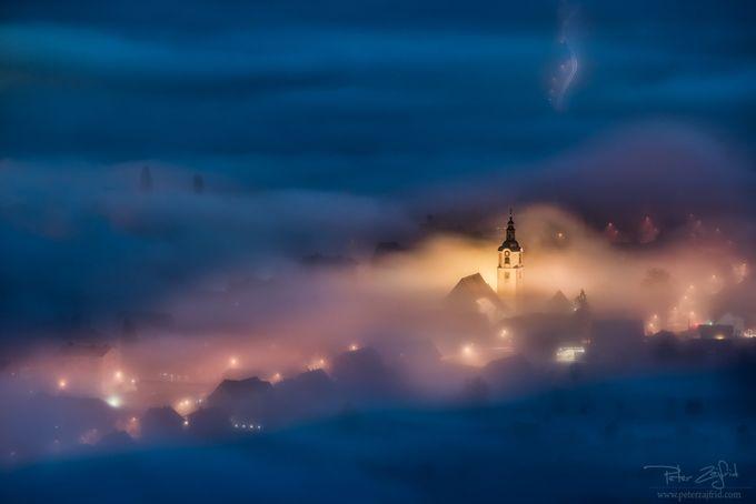 Foggy town by saintek - Covers Photo Contest Vol 42