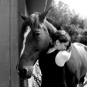 1st Place Winner of Under 18 Photography Contest in my town!!! :)  I took this photo of my cousin and her favorite horse, Flare. I love how it ac...