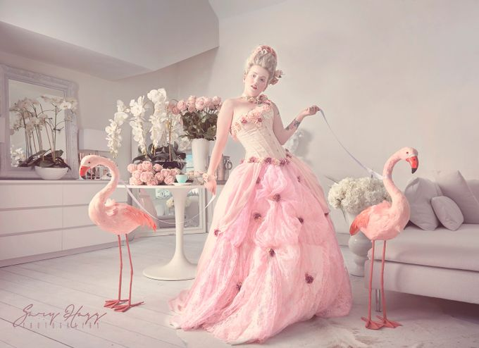 Thoroughly modern Marie by ghphotouk - Pink Photo Contest