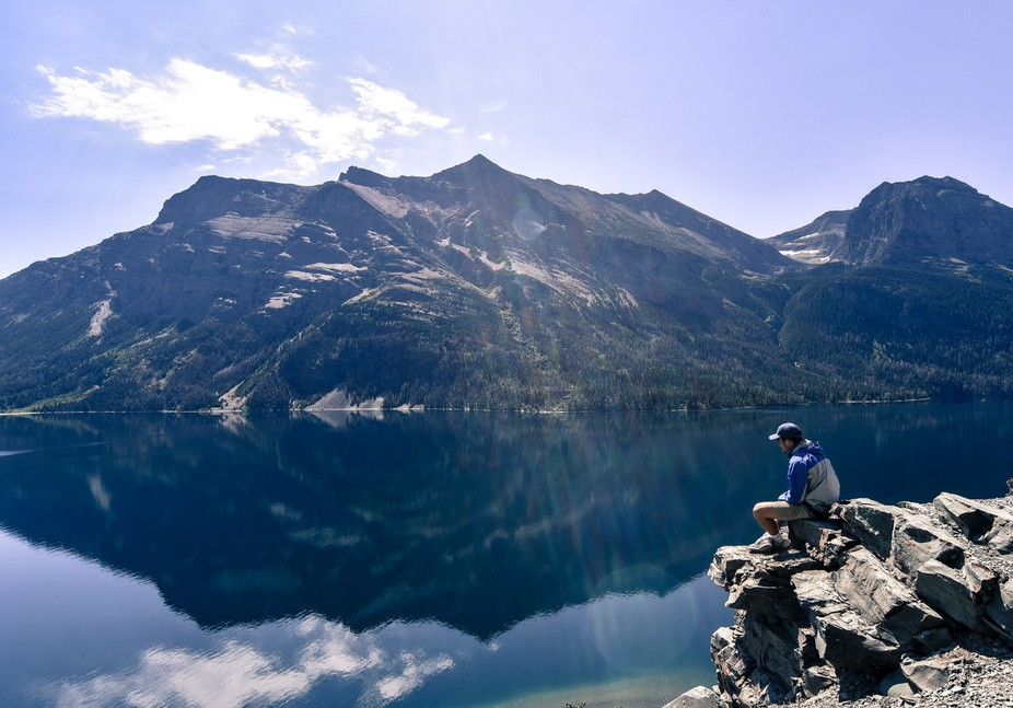 Shot in Glacier National Park