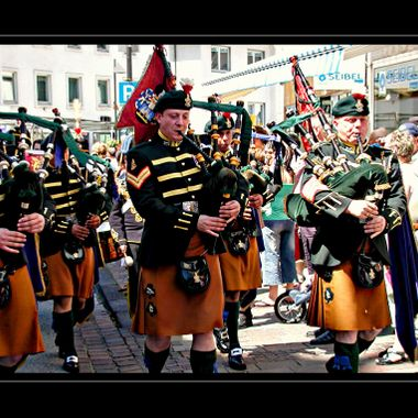 Freedom of Paderborn Parade.