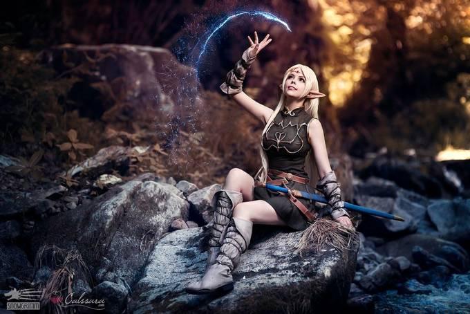 Deedlit by Snowgrimm - Fantasy In Color Photo Contest