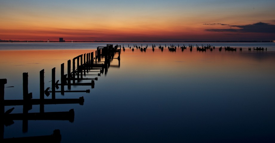 I captured this scene one morning after hurricane Irma had passed through the Space Coast. A broo...