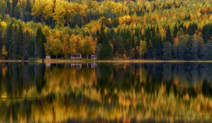 A cabin by the lake by estwikphoto - Covers Photo Contest Vol 42