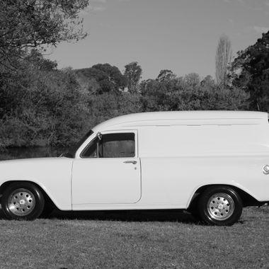 A friends classic restored 1963 EH Holden panelvan