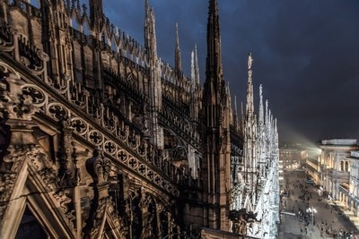 Rooftop of the Milan Duomo