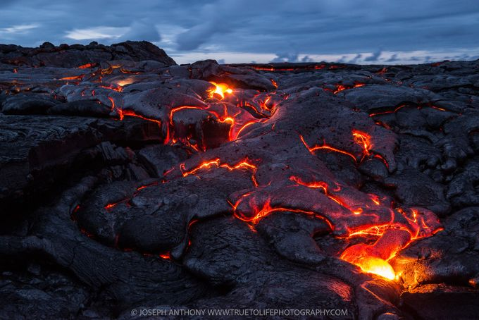 Blue hour breakout - Mount Kilauea volcano Hawaii by truetolifephotography - Celebrating Earth Day Photo Contest 2019