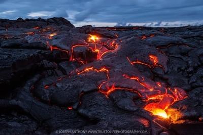 Blue hour breakout - Mount Kilauea volcano Hawaii