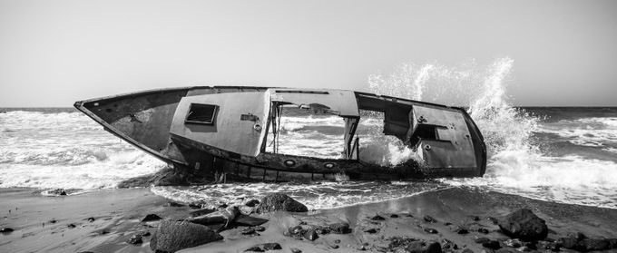 Shipwreck by akphotographystudio - Ships And Boats Photo Contest