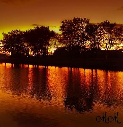 Fall time fishing