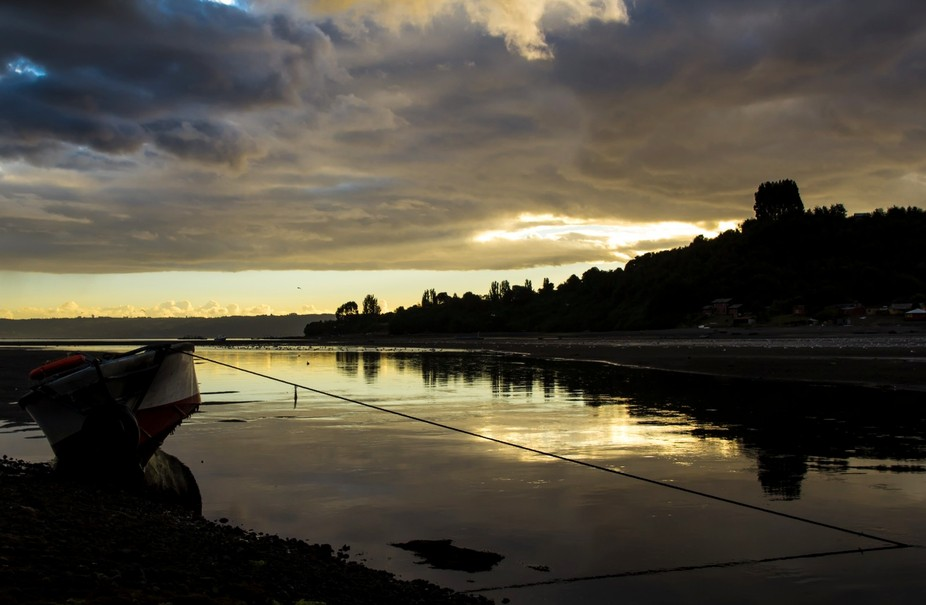 This photograph was captured on the beautiful island of Chiloe, located in Chile, South America. ...