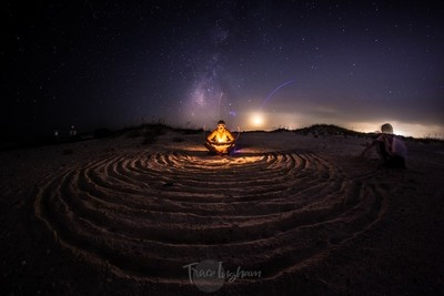 Namaste in the Sand