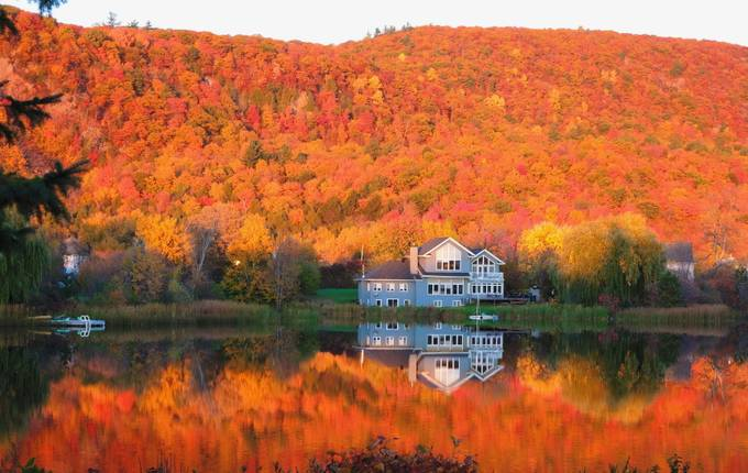 Reflections of Autumn  by Murray33 - Lakes And Reflections Photo Contest