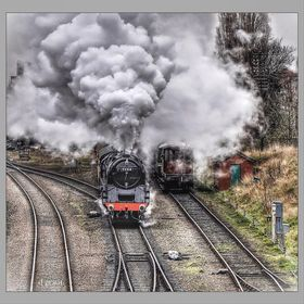 ACCELERATION # LOUGHBOROUGH Central & preserved 9F number 92214.