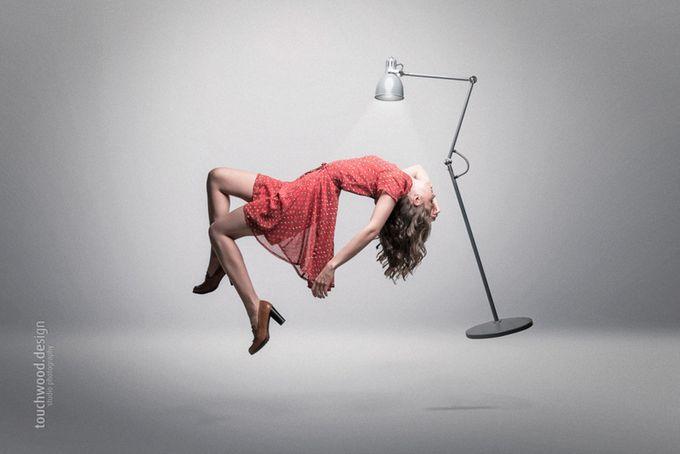 Studio work, Abduction by touchwood - Levitation Art Photo Contest