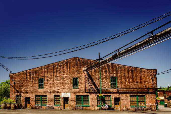 Visitor Center Gift Shop Distilled Spirits Plant Buffalo Trace (7486) Frankfort, KY 6-6-2017. by davidpcherniak - Warehouses Photo Contest
