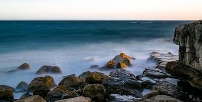 Evening On The Rocks