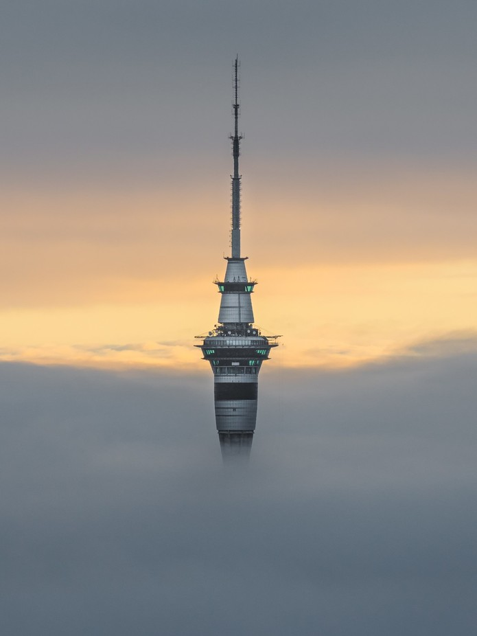 Sky City by tomrexjessett - Fog And City Photo Contest