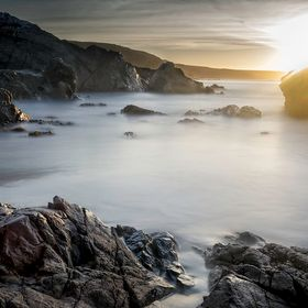 Coverack Cove Cornwall UK. this was taken at sun rise in this very small cove I came across by mistake. I used A 10 stop Big Stopper, only the 2n...