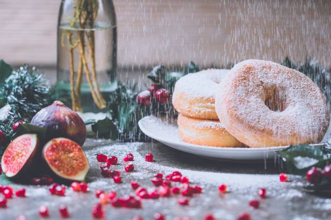 FESTIVE DONUTS  by Etienne_Fourie - Delicious Photo Contest