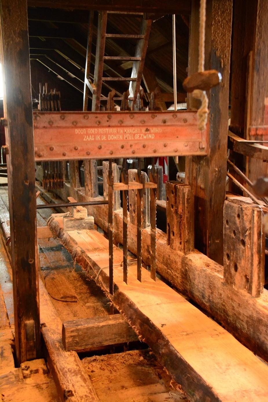 Interior sawmill de Rat