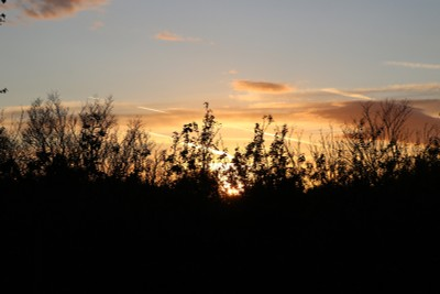 Sunset over Royal Lytham