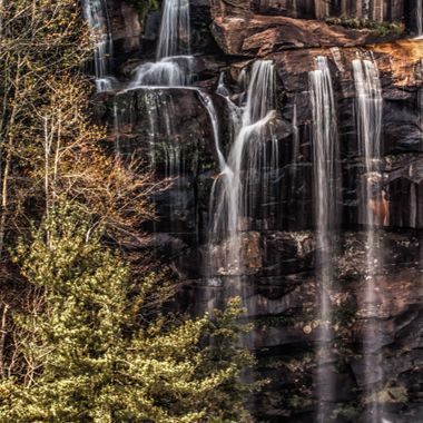 Portion of Whitewater Falls on the NC/SC border