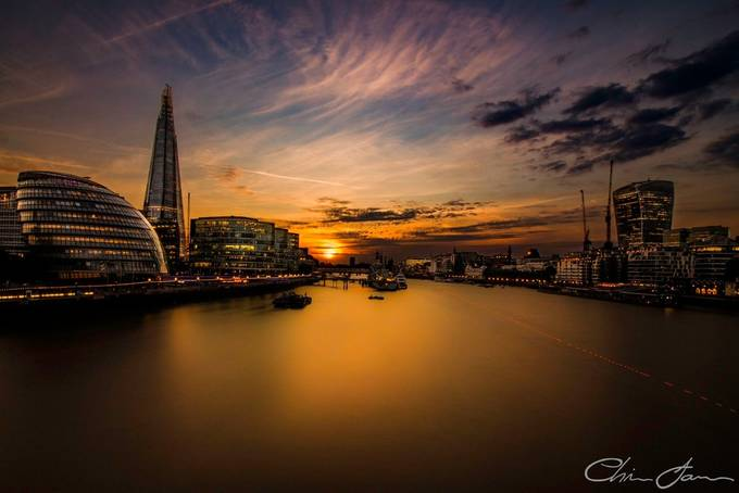 The Golden City by Chris_James - Monthly Pro Vol 36 Photo Contest