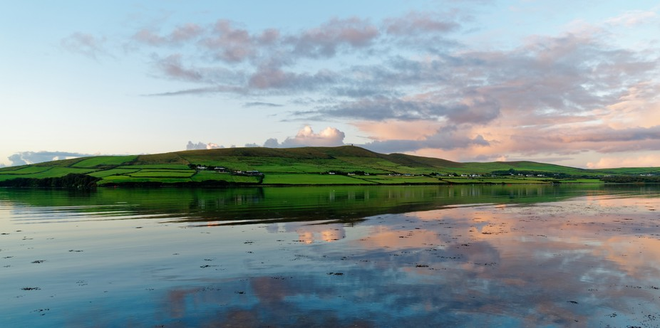 Sunrise over the bay - Dingle Ireland