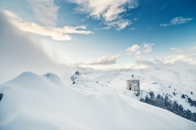 Snow and Church